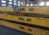 Yellow Container Lifting Spreader , Electric Container Spreader Bar For Lifting Containers