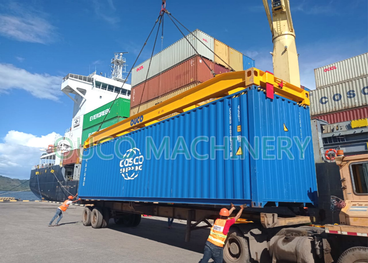 40t 40ft Container Lifting Spreader For Portal Crane